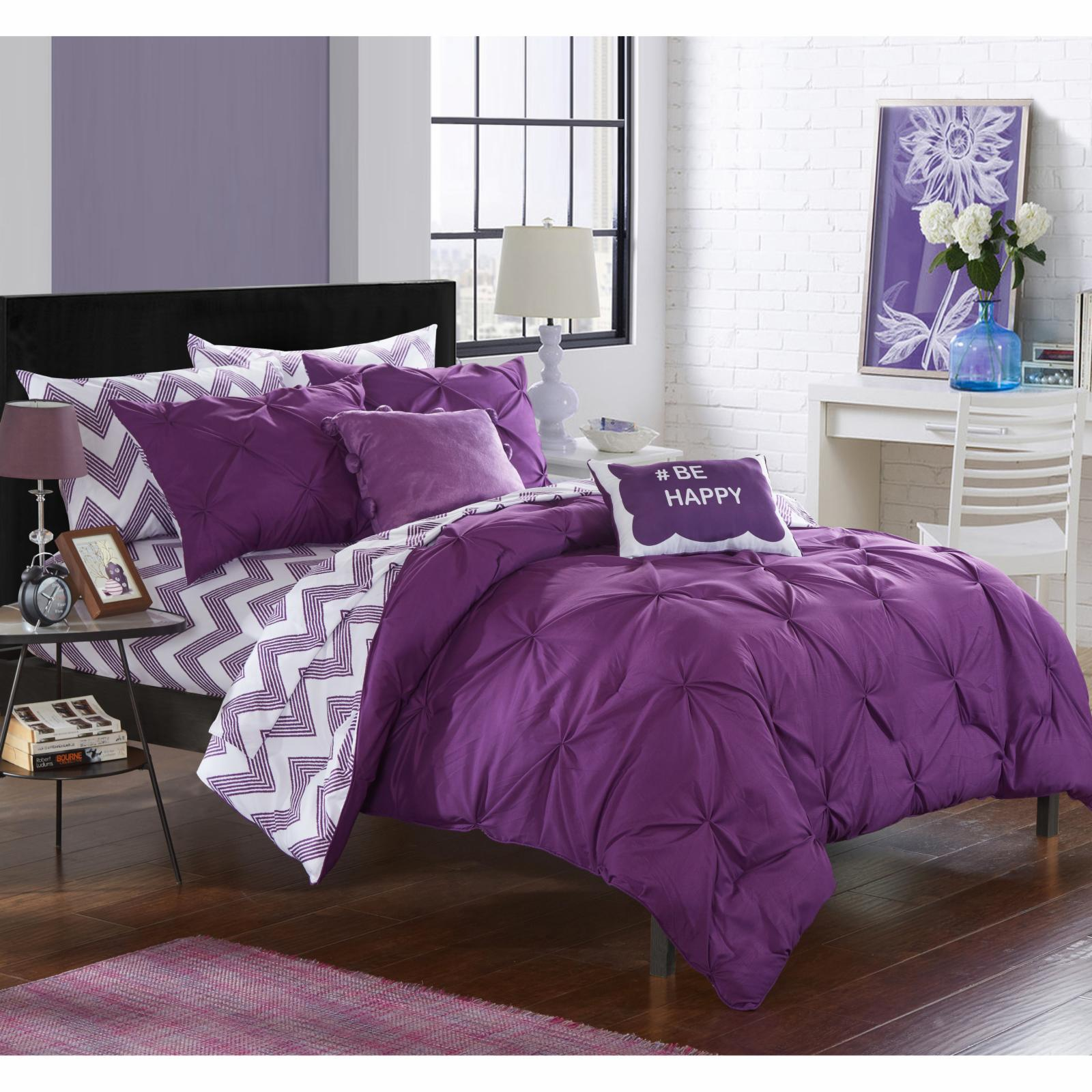 Chic Home Foxville Reversible Bed in a Bag Comforter Set ...