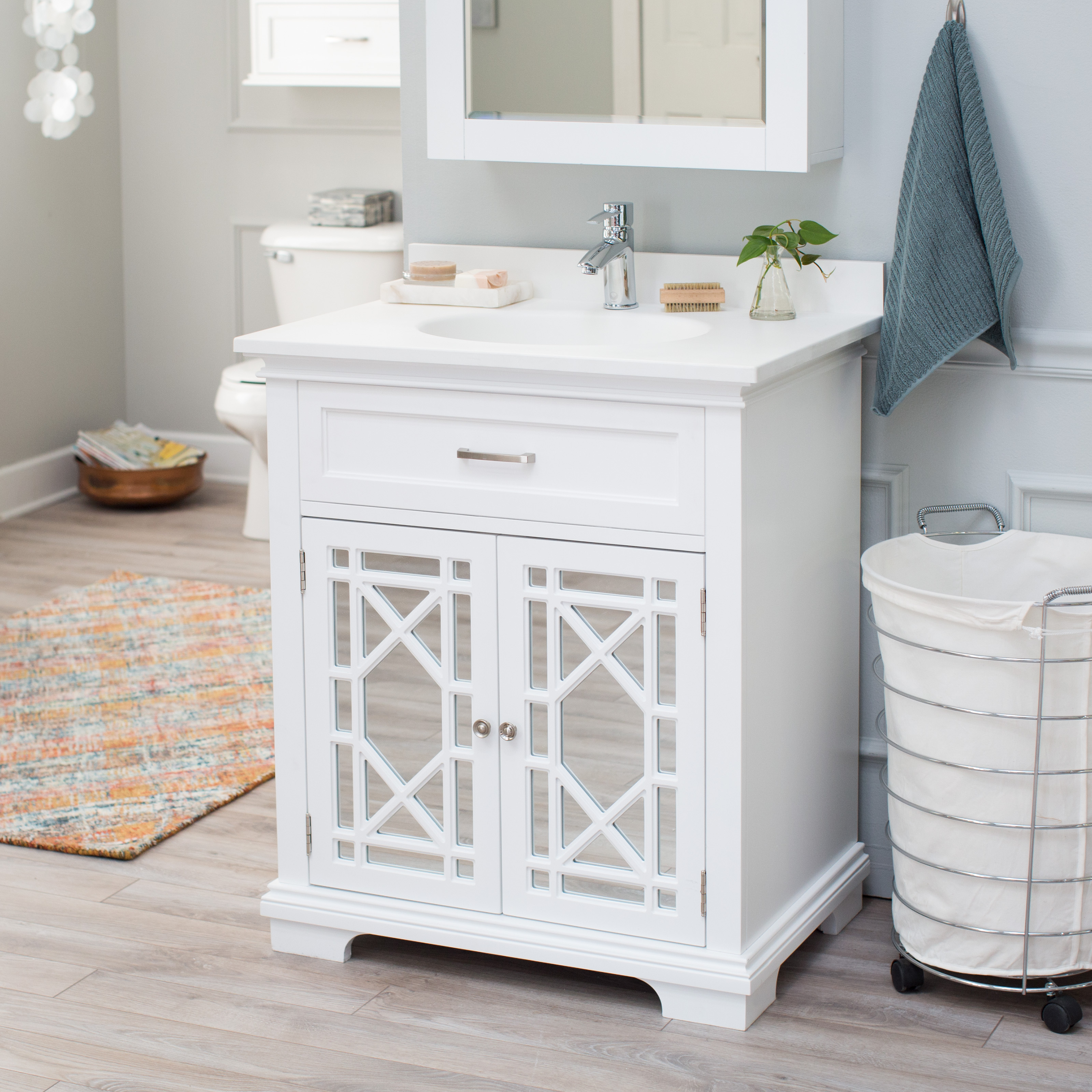 Captivating Belham Living Florence Bath Vanity With Optional Sink And Faucet