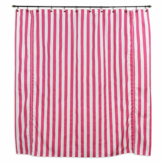 Brite Ideas Living Canopy Candy Pink Shower Curtain