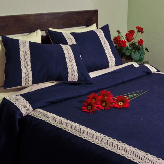 Circa Solid Lace Daybed Duvet Cover Set by Brite Ideas Living