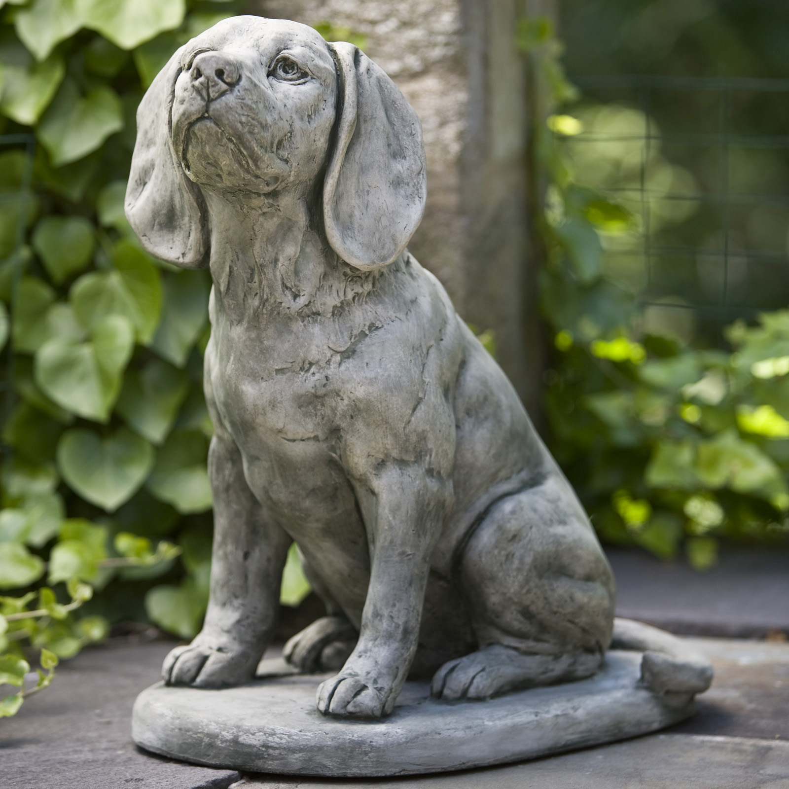 Great Campania International Scout The Beagle Cast Stone Garden Statue | Hayneedle