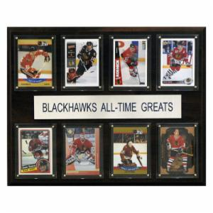NHL 12 x 15 in. Chicago Blackhawks All-Time Greats