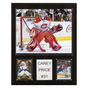 NHL 12 x 15 in. Carey Price Montreal Canadiens Player Plaque