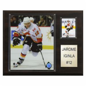 NHL 12 x 15 in. Jarome Iginla Calgary Flames Player Plaque