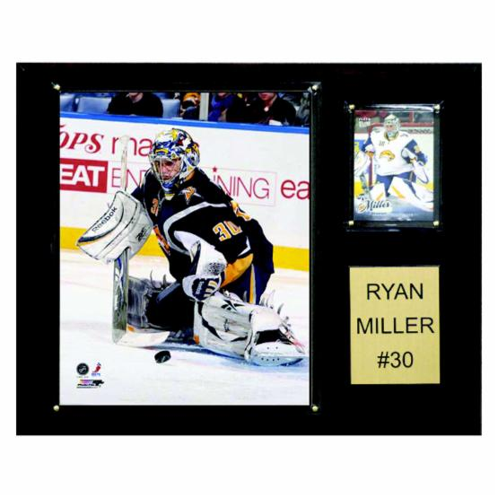 NHL 12 x 15 in. Ryan Miller Buffalo Sabres Player Plaque