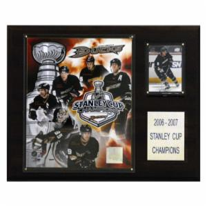 NHL 12 x 15 in. Ducks 2006-07 Stanley Cup Champions Plaque
