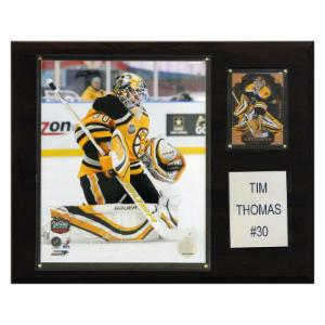 NHL 12 x 15 in. Tim Thomas Boston Bruins Player Plaque