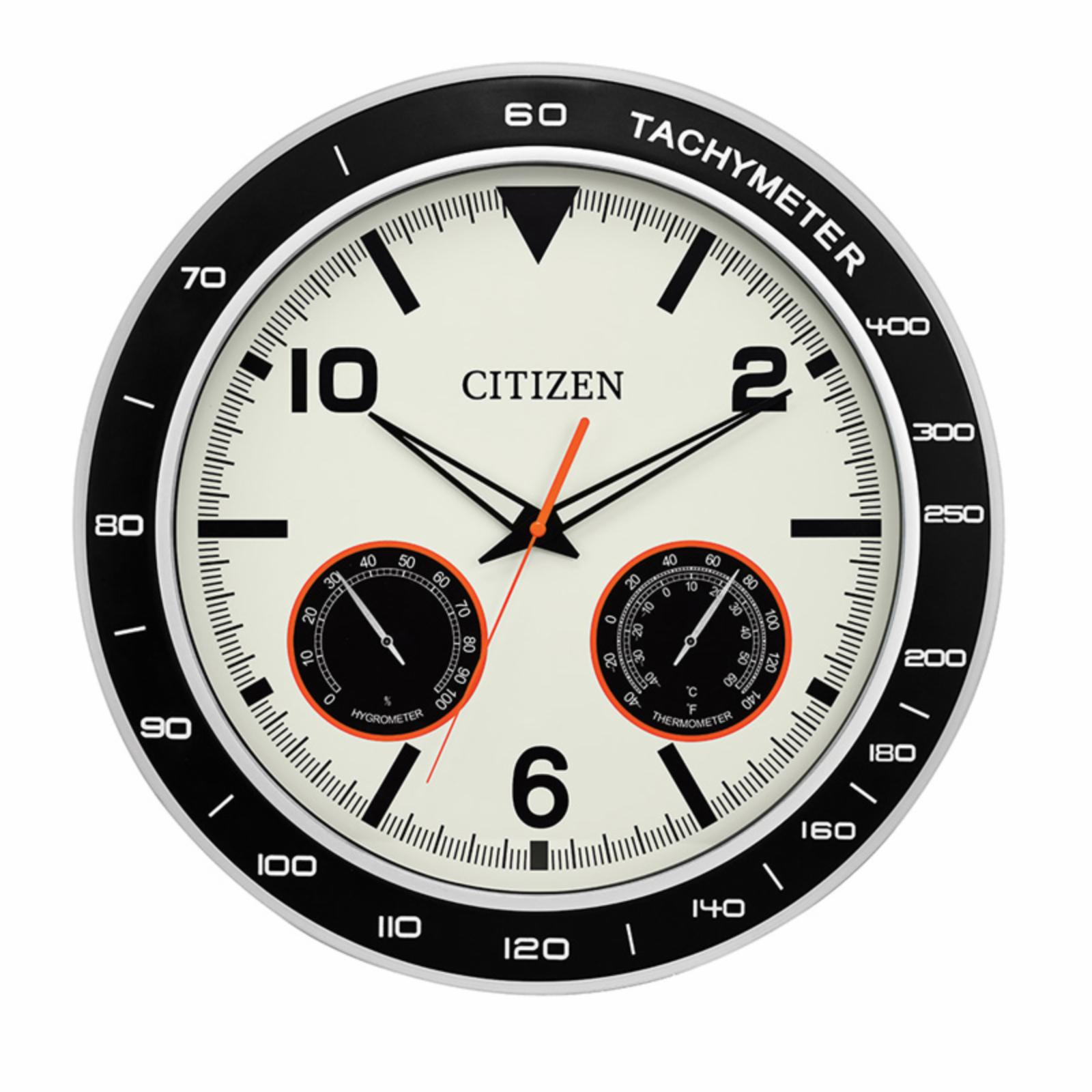 Citizen Clocks 18 in. Outdoor Water-Resistant Circular Wall Clock - CC2019