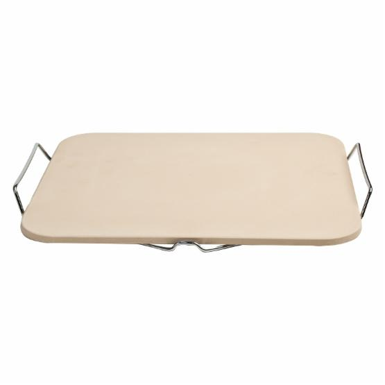 Pizzacraft Rectangular Pizza Stone with Wire Frame
