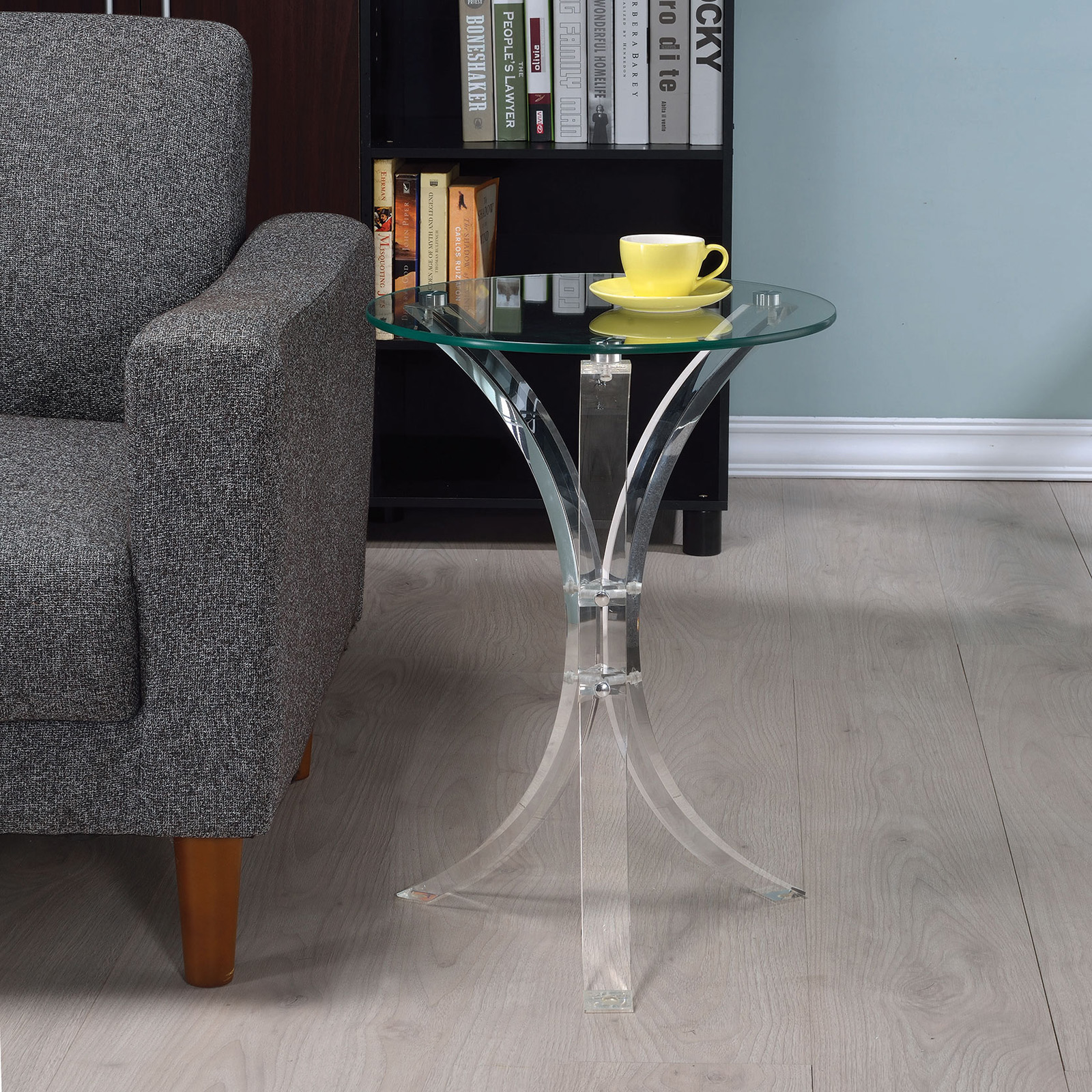 Coaster Furniture Contemporary Acrylic Accent Table