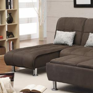 Coaster Cashmere Convertible Chaise Lounge