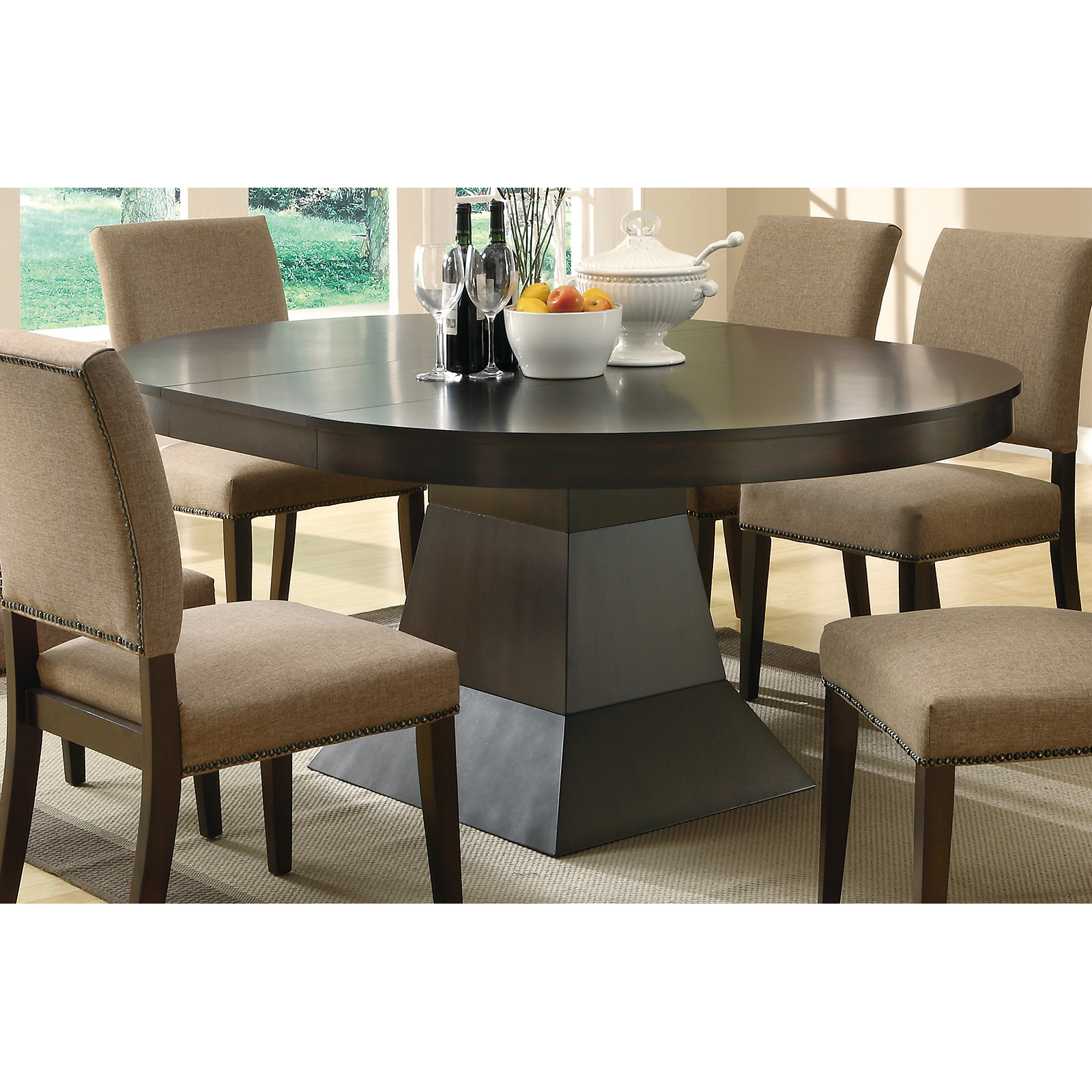 Superieur Coaster Furniture Myrtle Dining Table With Extension