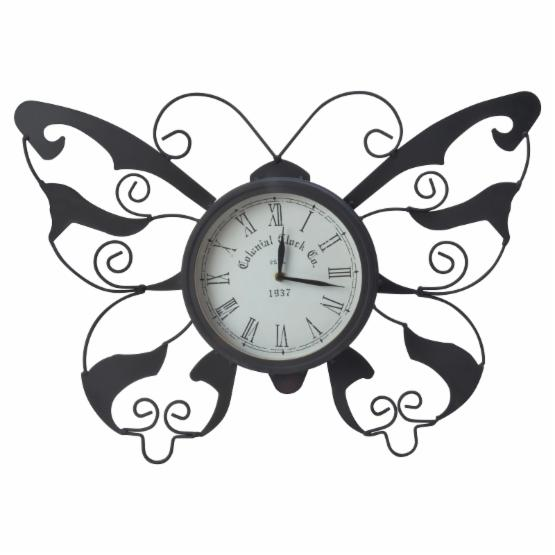 Moonrays by Coleman Cable Butterfly Garden Clock - DO NOT USE