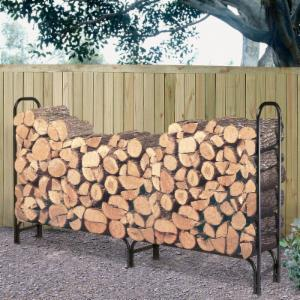 Landmann 8 ft. Firewood Rack with Cover