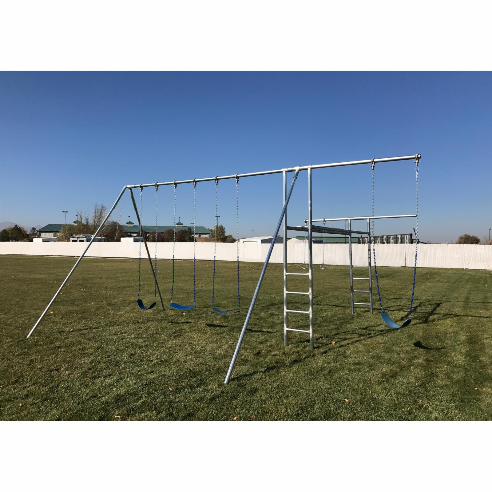 Used playground equipment Swing Sets Playsets