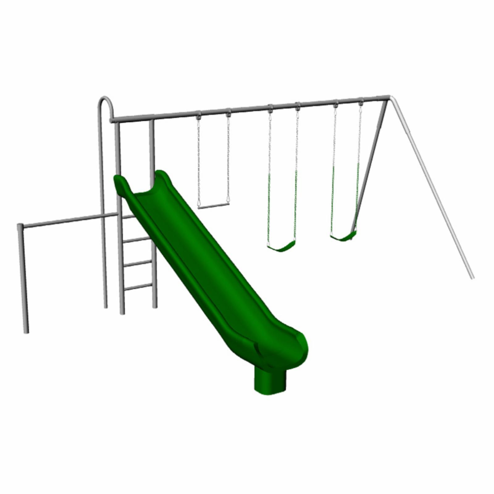 Component Playgrounds Natalie Metal Swing Set - MT40