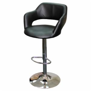 Creative Images International 31 In Executive Swivel Bar Stool Black