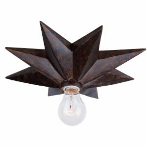 Crystorama 9230-EB Ova English Bronze Flush Mount Light