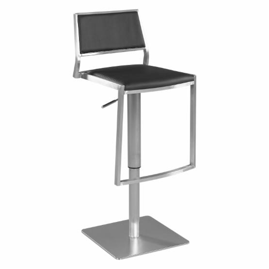 Chintaly Sprague Adjustable Swivel Bar Stool