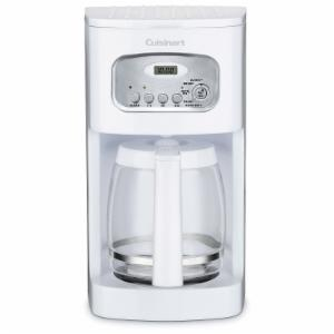 Cuisinart DCC-1100 12-Cup Programmable Coffee Maker - White