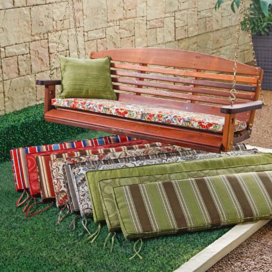 Coral Coast Atrium 53 x 14 in. Cushion for Porch Swing and Glider