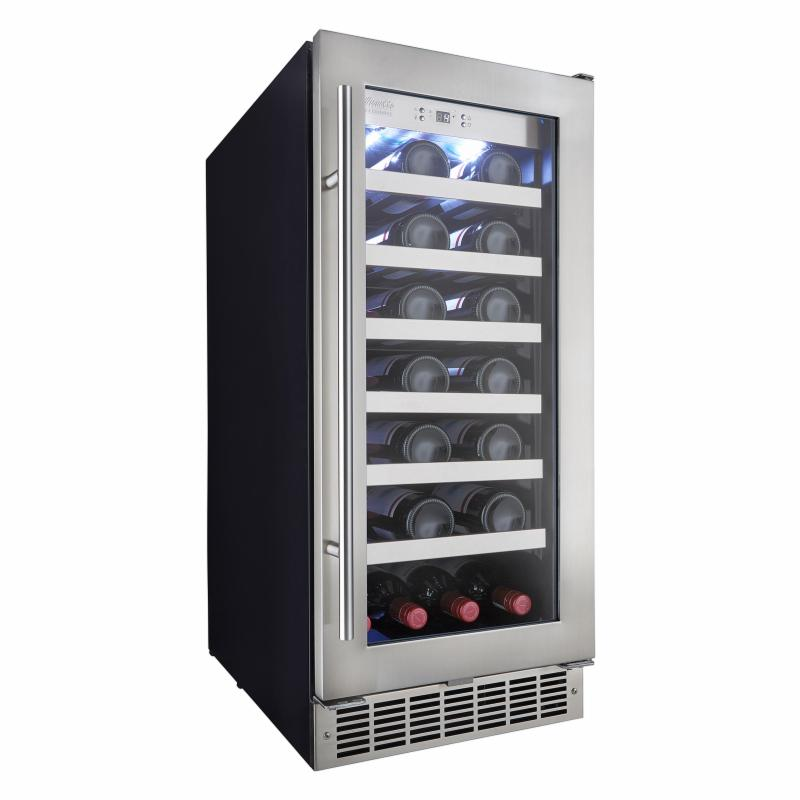 Silhouette Professional 28 bottle Built-In Wine Cooler - ...