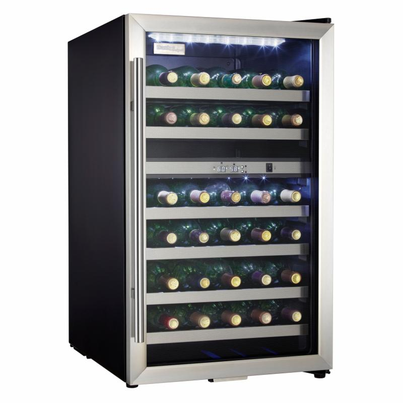 Danby Designer 38 Bottle Wine Cooler - Stainless - DWC114...