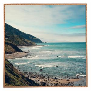 Deny Designs Catherine McDonald California Pacific Coast Highway Framed Wall Art