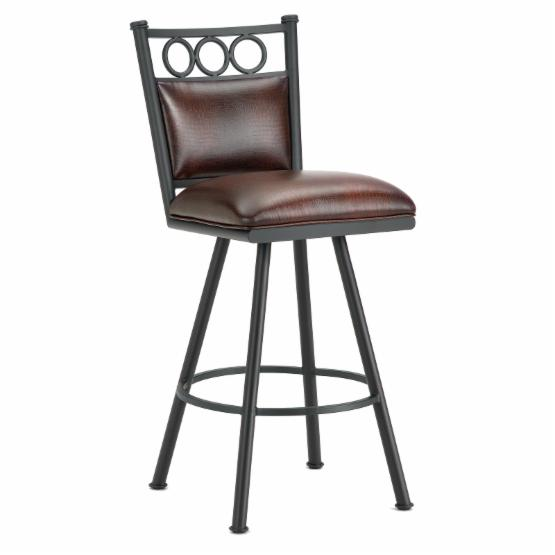 Barrington Home Waterson Swivel Counter Stool