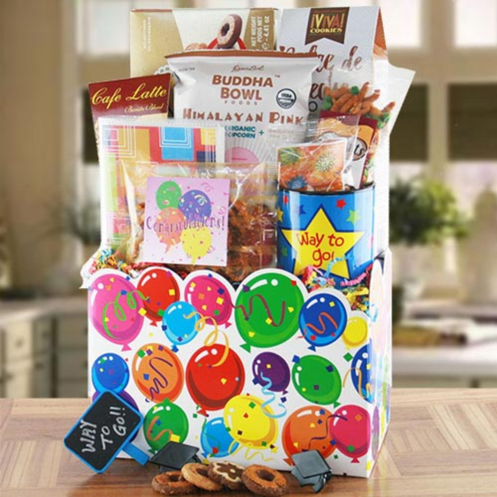 Design It Yourself Gift Baskets Graduation Goodies Gift Basket - 777345