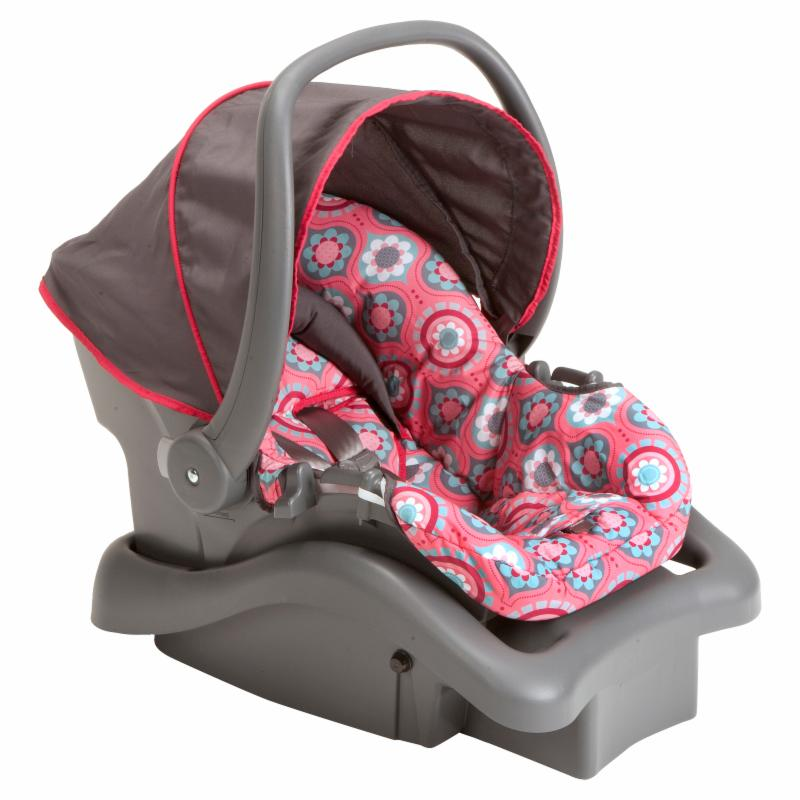 Cosco Light N Comfy DX Infant Car Seat - Posey Pop - IC20...