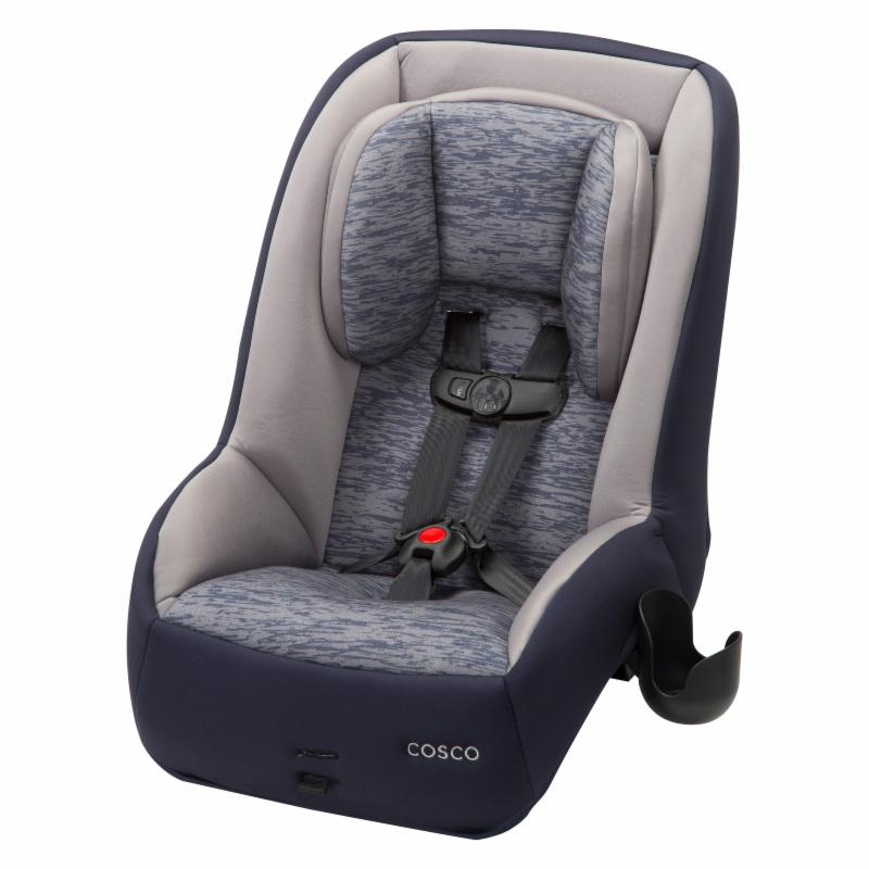 Cosco MightyFit 65 DX Convertible Car Seat - Heather Navy...