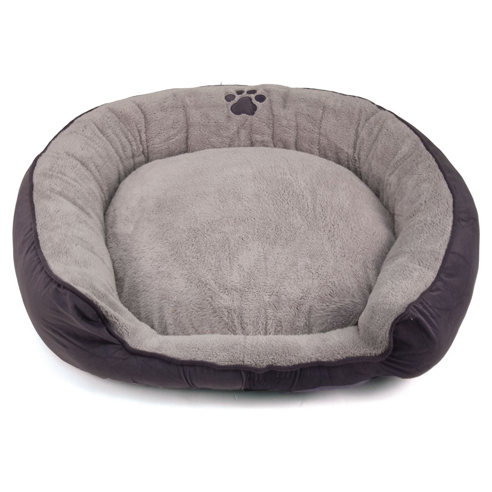 bowsers platinum series microvelvet donut dog bed  hayneedle -
