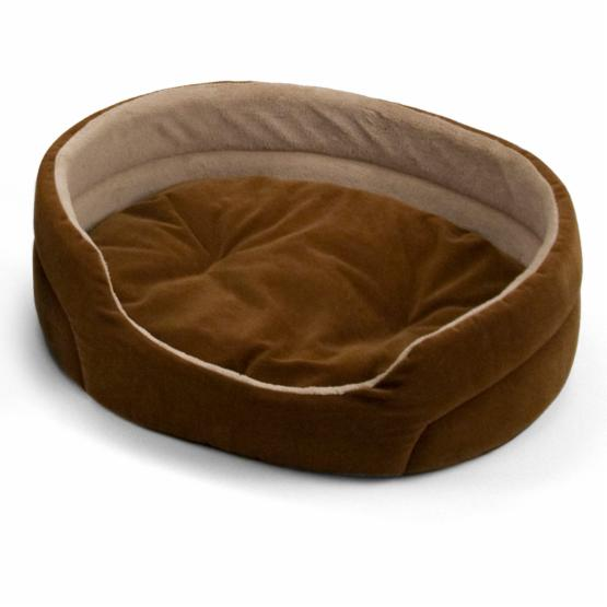 Dallas Manufacturing Company Oval Corduroy Pet Bed