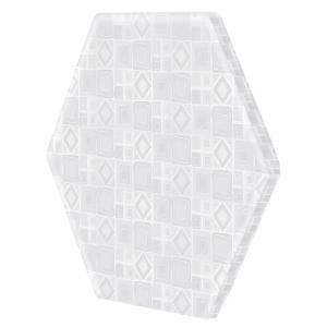 Dream On Me Infant Hexagon Pop N Play Firm Mattress Pad