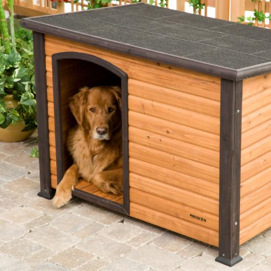Precision Pet Extreme Log Cabin Dog House
