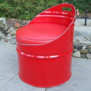 Drum Works Furniture Very Red Club Chair