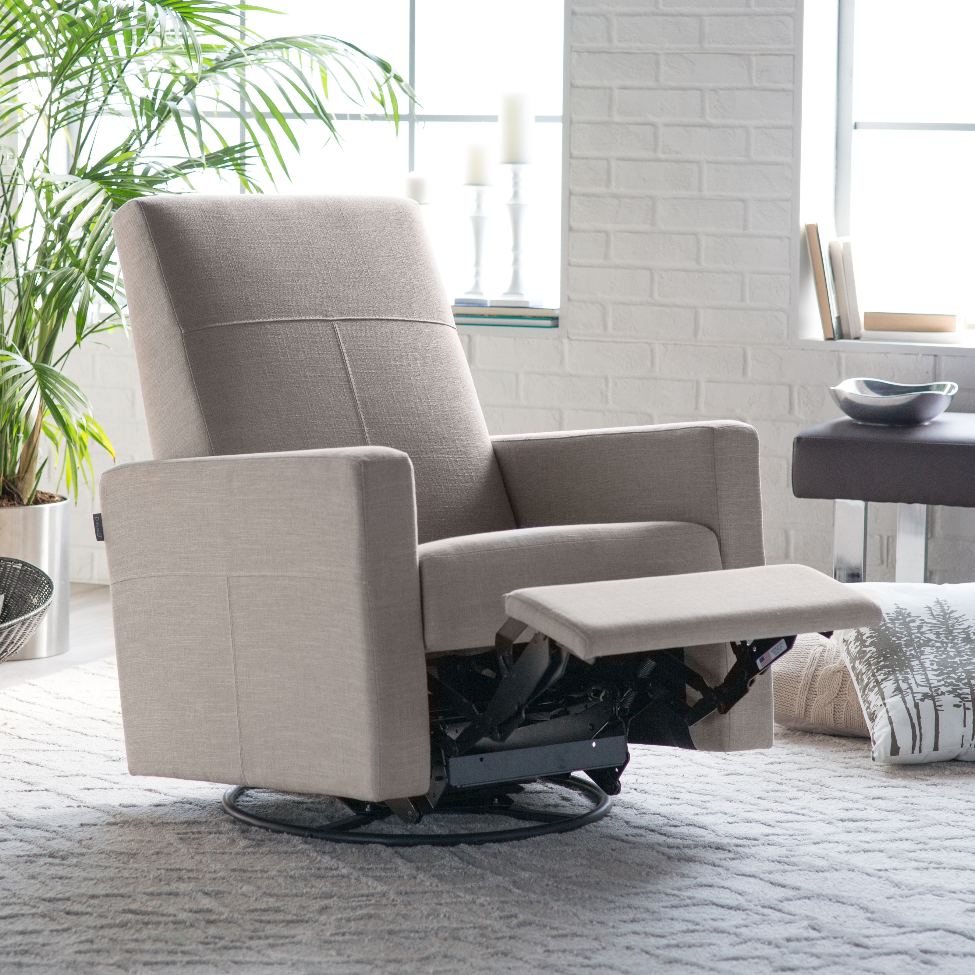 & Dutailier Minho Reclining Glider with Built In Footrest | Hayneedle islam-shia.org