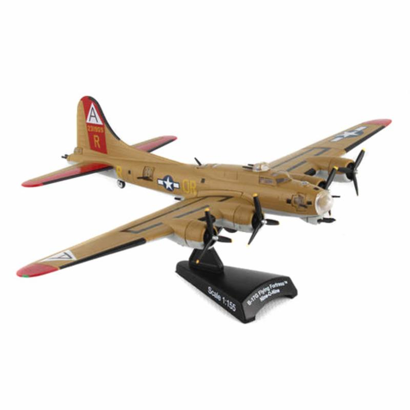 Postage Stamp USAAF B-17G Flying Fortress Model Airplane ...