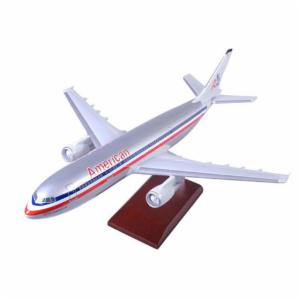 Daron Worldwide Airbus A300-600 American Model Airplane
