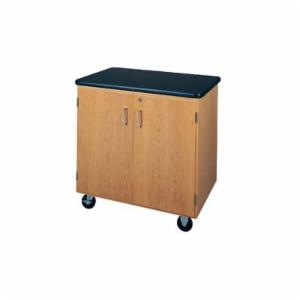 Diversified Woodcrafts Mobile Storage Cabinet