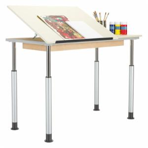 Diversified Woodcrafts Adjustable Drafting Table