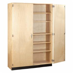 Diversified Woodcrafts General Double Door Storage Cabinet