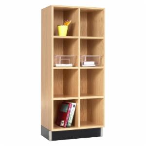 Diversified Woodcrafts 2 Column Cube Cabinet