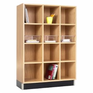 Diversified Woodcrafts 3 Column Cube Cabinet