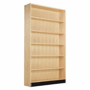 Diversified Woodcrafts Open Shelf Floor Unit - Maple