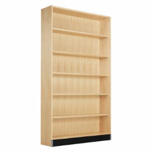 Diversified Woodcrafts Open Shelf Floor Unit - Oak