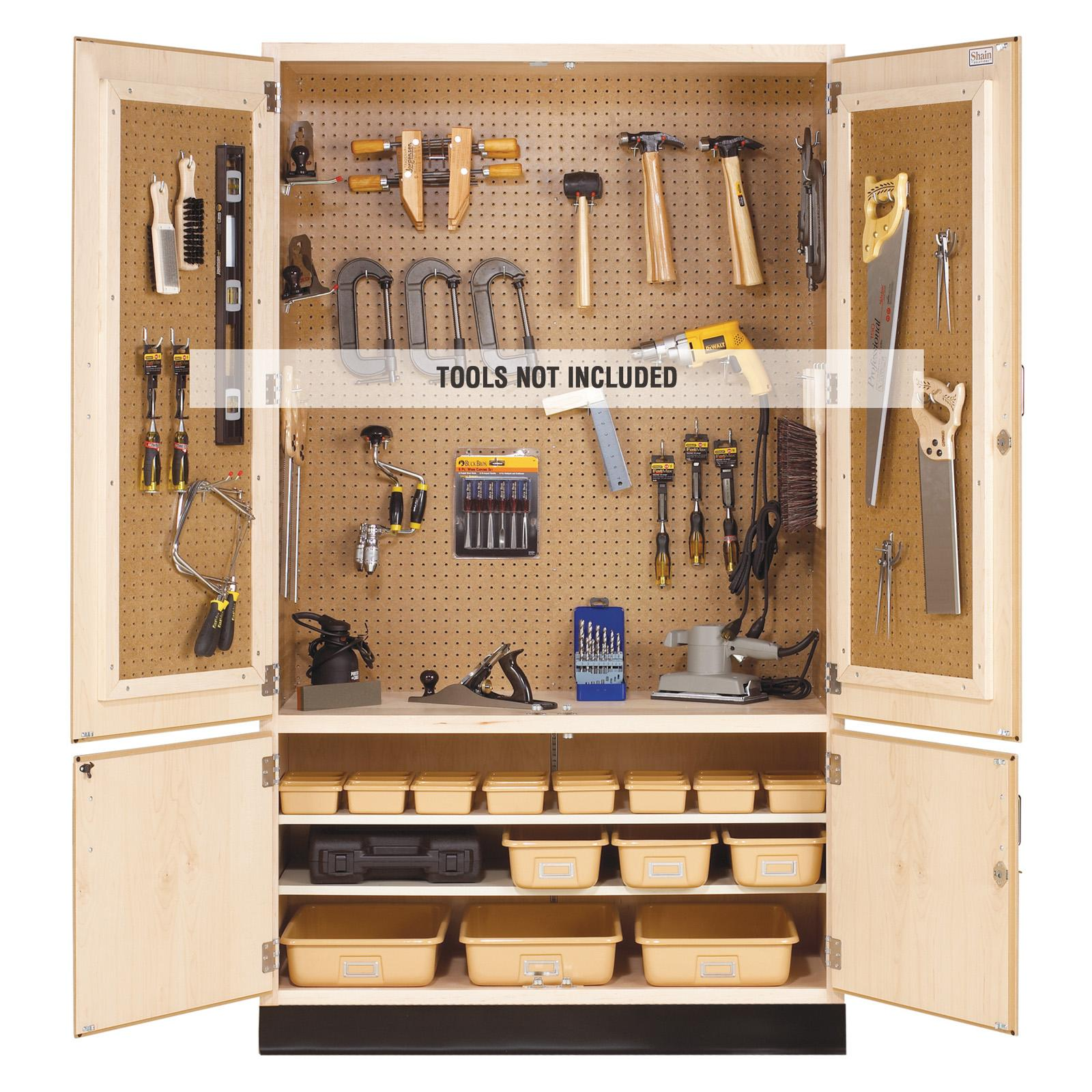 Diversified Woodcrafts Tool Storage Cabinet - TC-4810