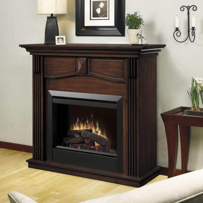 Dimplex Holbrook Electric Fireplace - DFP4765BW