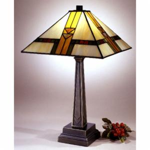 Craftsman mission style table lamps hayneedle dale tiffany mission table lamp aloadofball Images